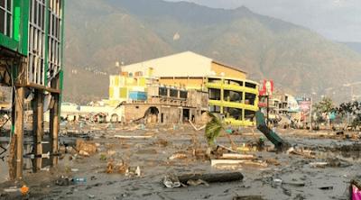puisi kesedihan tentang gempa bumi Palu dan Donggala.