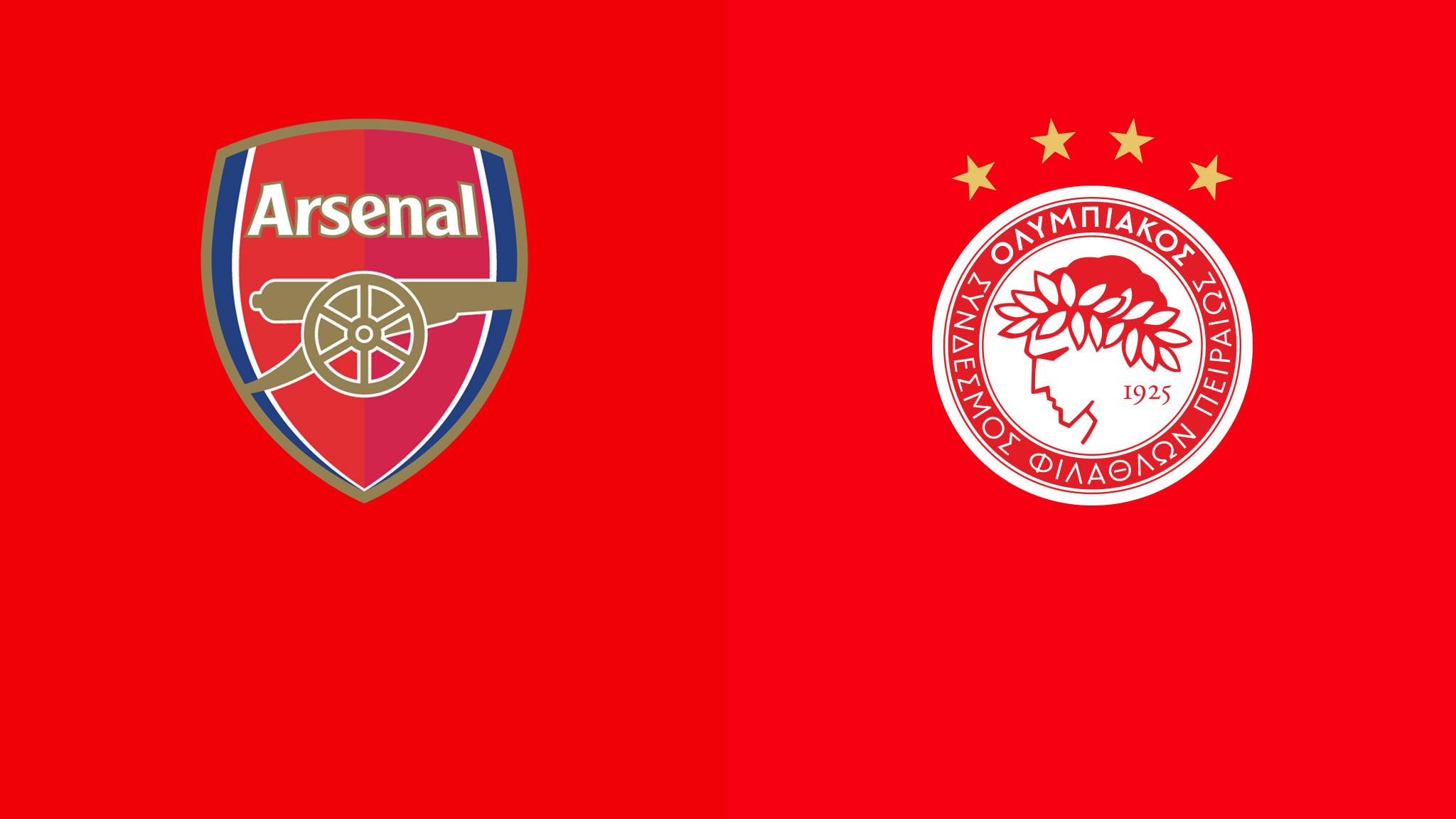 Arsenal vs Olympiacos Europa League