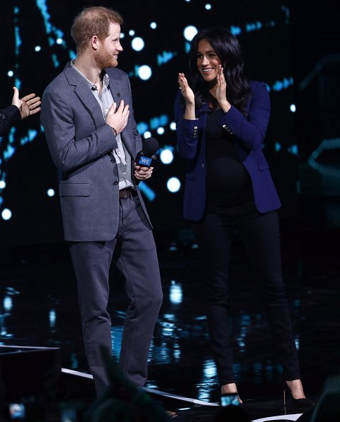 The Duke and Duchess of Sussex attended the WE Day UK ...