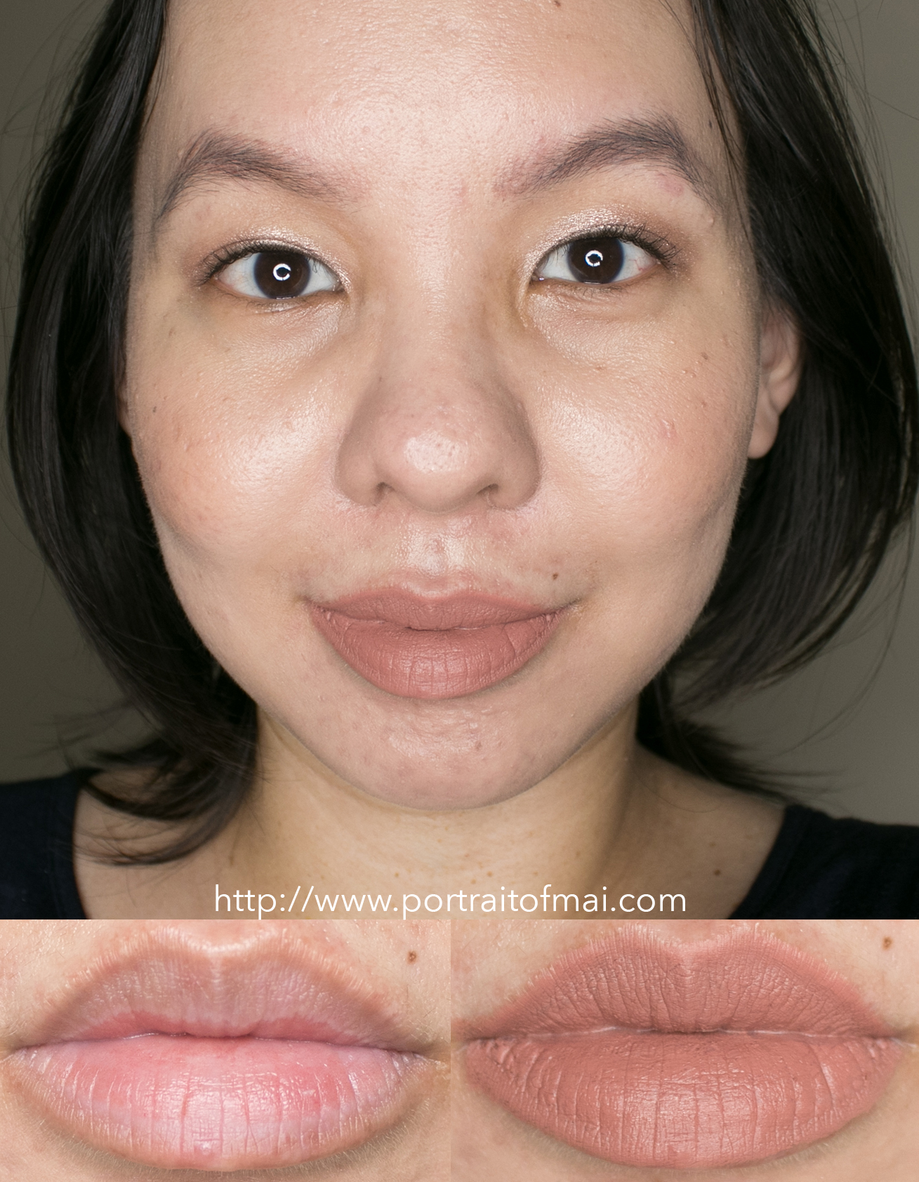 Lisa Eldridge Velvet Fawn True Velvet Lipstick Swatch