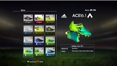 PES 2013 New Bootpack Season 2017/2018 by JDMorales