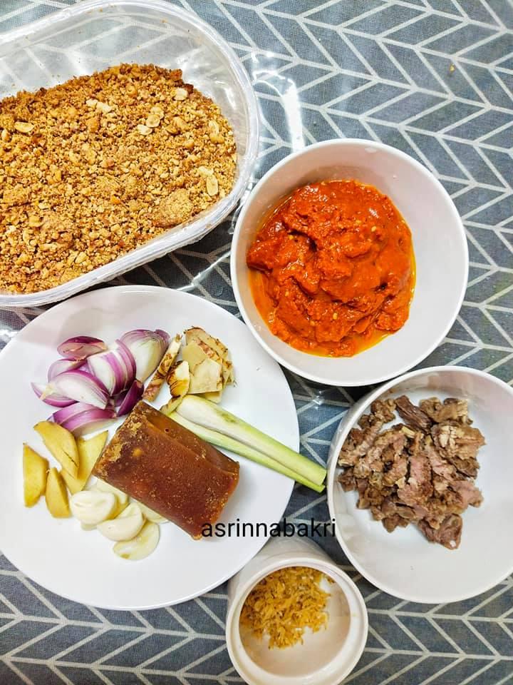 Resepi Sambal Kacang Daging Hari Raya