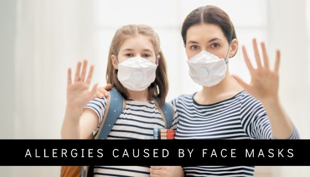 allergies caused by face masks