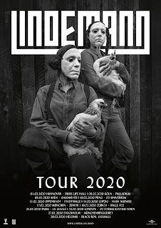L'affiche de la tournée de Lindemann