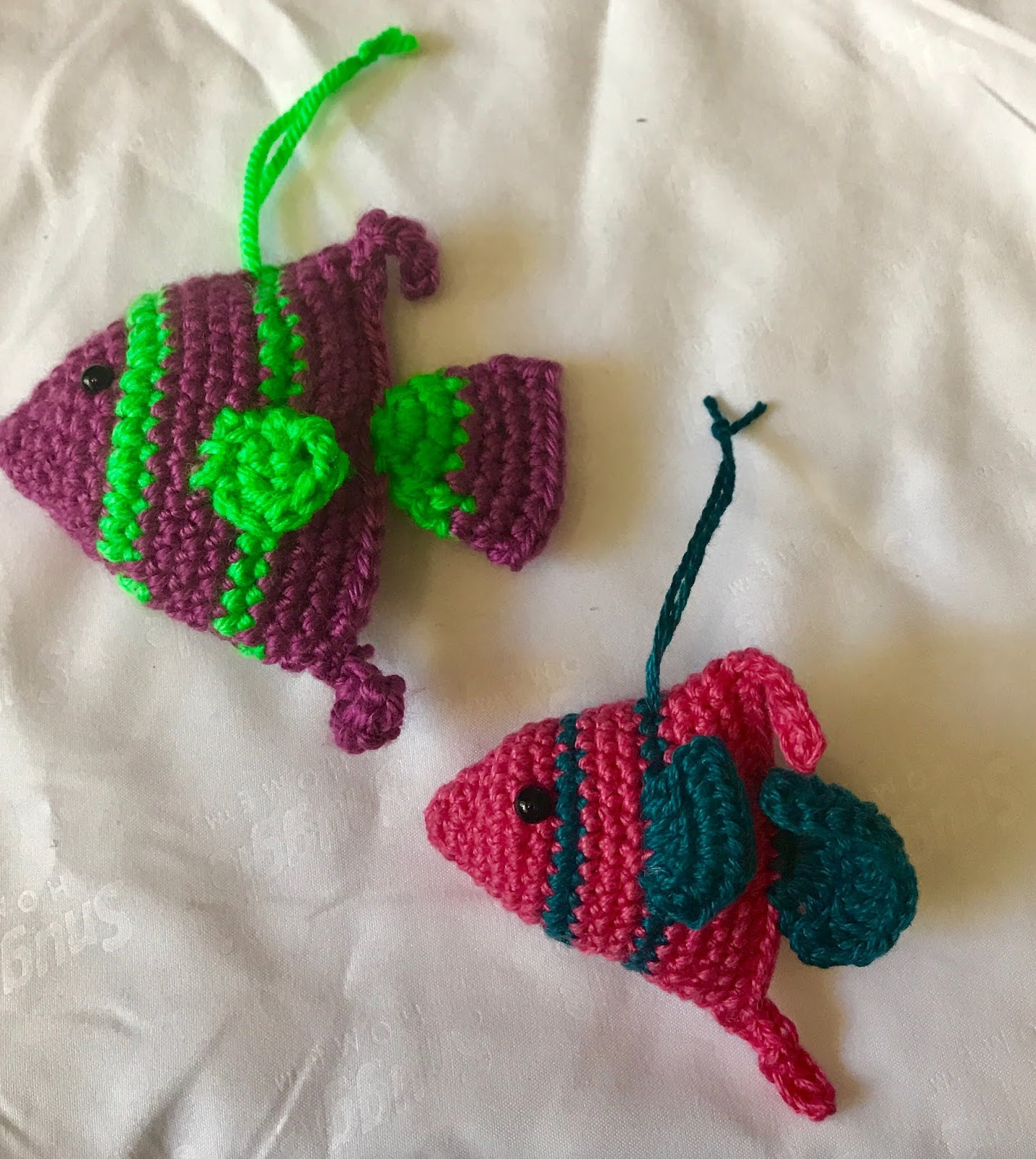 Renys Place Here Fishy Fishy Crochet Fish Pattern For A