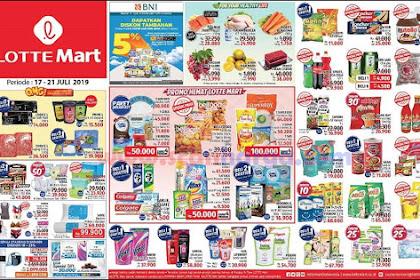 Katalog Promo Jsm LOTTEMART Weekend 17 - 21 Juli 2019