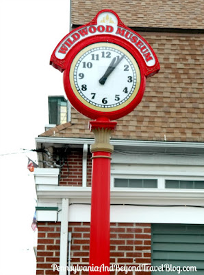 Wildwood Historical Museum Town Clock in New Jersey