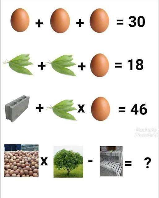 10 Tebak-tebakan Lucu Hitungan Matematika yang Bikin Sakit Kepala