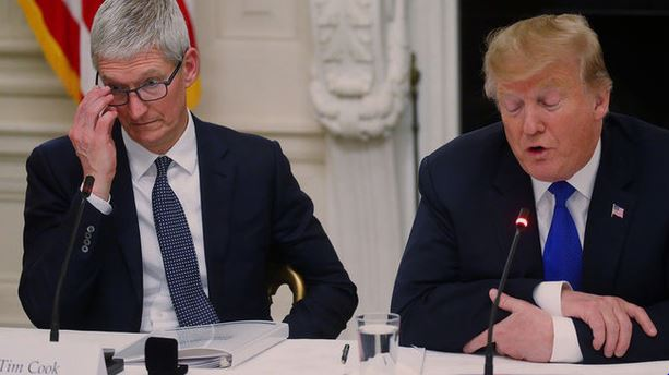 Trump called on Apple to return from China to the United States