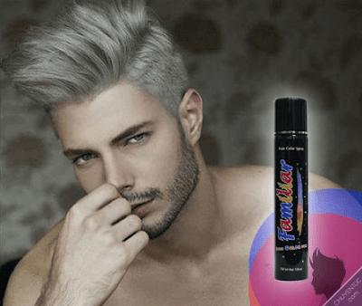 Hình ảnh keo xịt tóc màu familiar hair color spray