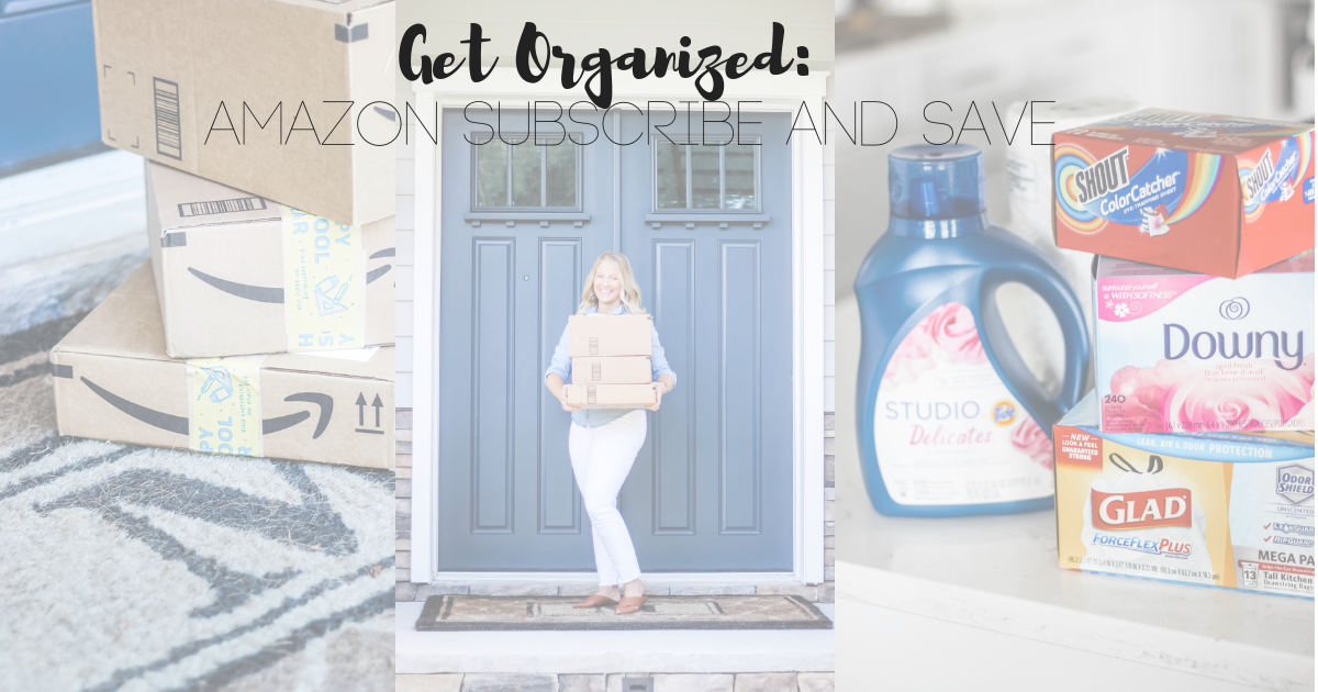 Organize, house, shopping, amazon, subscribe and save, simplicity challenge, steps to simplify, 30 day challenge,