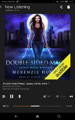 Book 1: DOUBLE-SIDED MAGIC (audiobook)