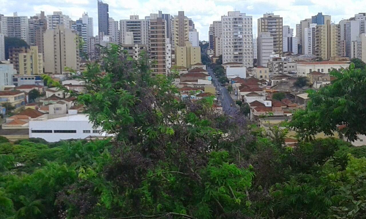 Vista de Ribeirão desde o mirante