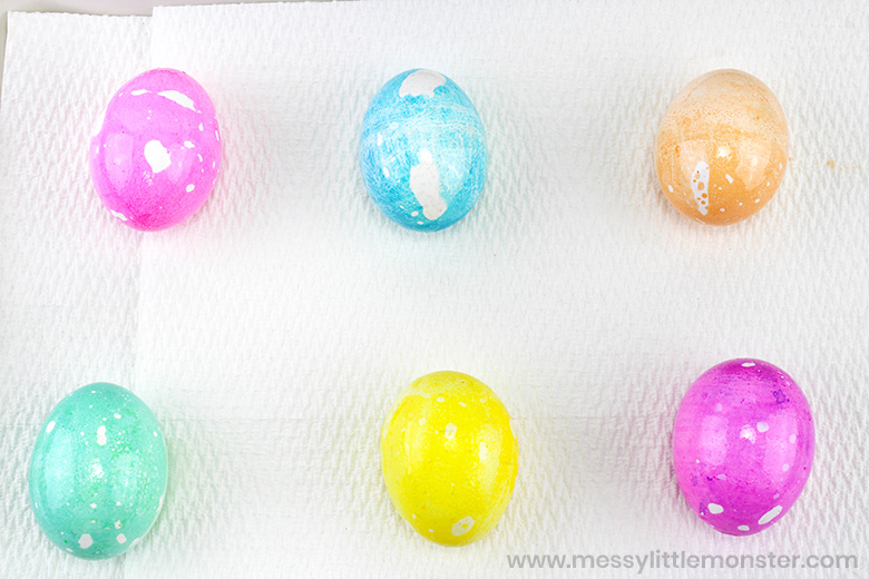 Coloring Easter eggs decorating ideas