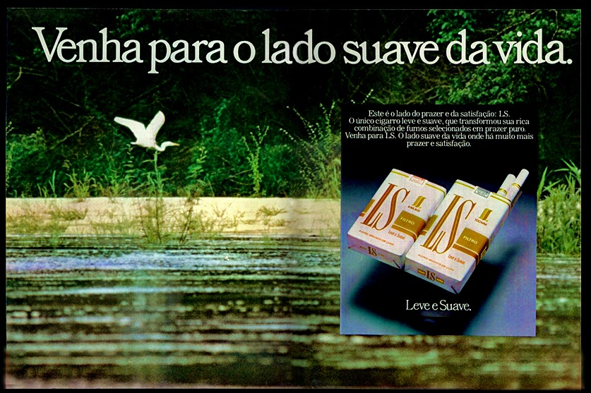 anos 70, propaganda de cigarros anos 70. história anos 70, reclames anos 70. oswaldo Hernandez.