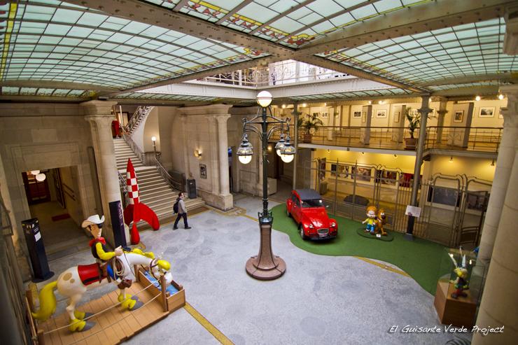 Centro Belga del Comic - Bruselas por El Guisante Verde Project