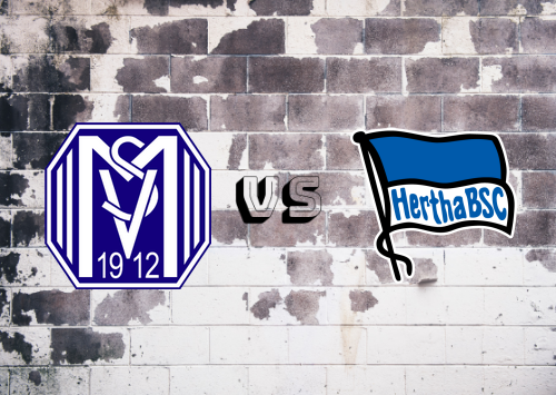 Meppen 1912 vs Hertha BSC  Resumen