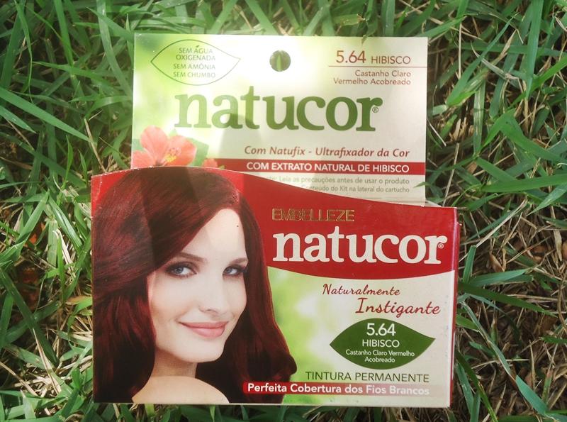 Natucor 5.64 Hibisco Castanho Claro Vermelho Acobreado