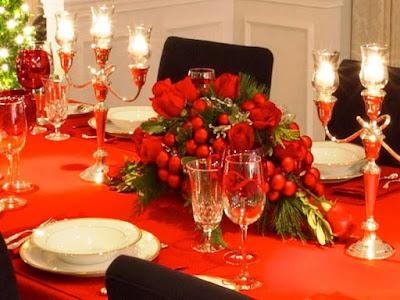 Dekorasi Meja Makan Untuk Perayaan Natal