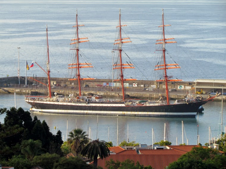the magnificence of Sedov, the world's largest sailboat