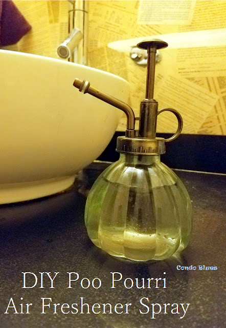 how to make zero waste non toxic air freshener bathroom spray