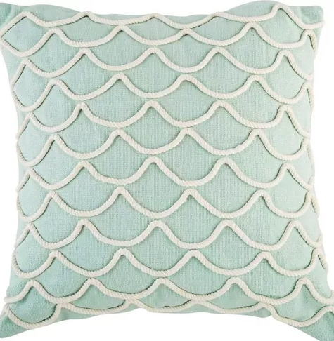 Rope Wave Pillow