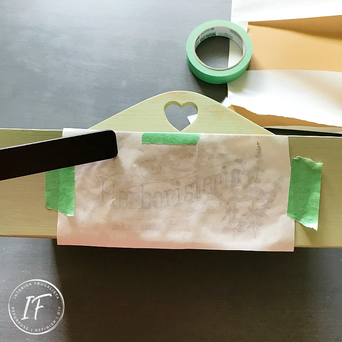 Parchment Paper Graphic Transfer Method
