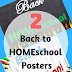 2 Back to HOMEschool Posters