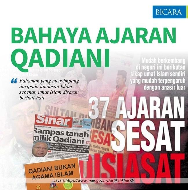 Ajaran Sesat Qadiani