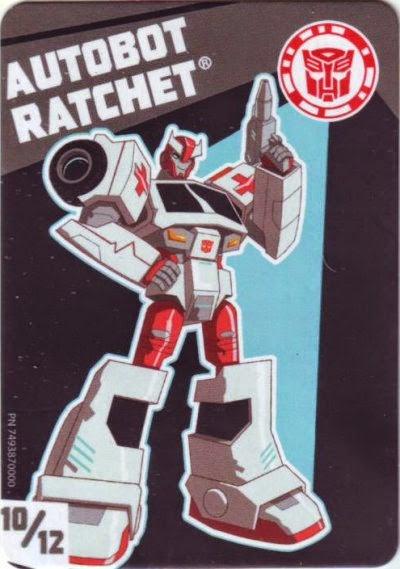 Transformers Bio Card Database Rid Tiny Titans