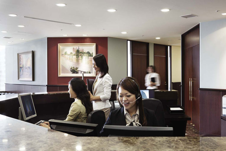 Resepsionis Virtual Office di Jakarta