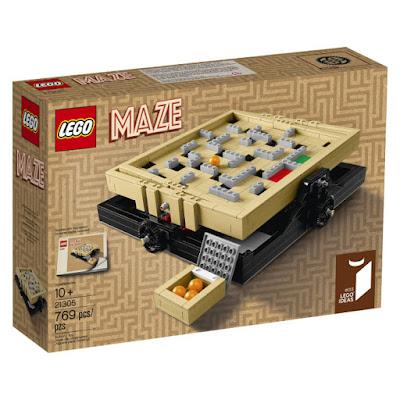 TOYS : JUGUETES - LEGO Ideas  21305 Maze  Producto Oficial 2016 | Piezas: 769 | Edad: +10 años  Comprar en Amazon España & buy Amazon USA