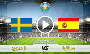مشاهدة مباراة اسبانيا والسويد بث مباشر بتاريخ 14-06-2021 يورو 2020