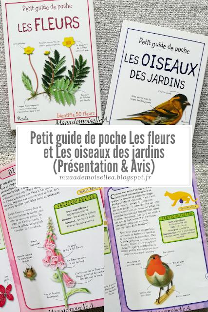 || Petit guide de poche Les fleurs et Les oiseaux des jardins (Présentation & Avis)(Chut, les enfants lisent # 109)