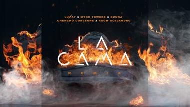 La Cama (Remix) Lyrics - Lunay, Myke Towers & Ozuna