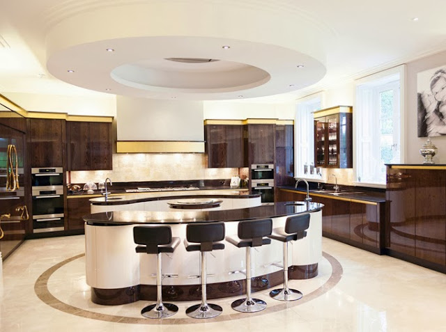 Kitchen design think tank celestial island cluster Kitchen design centre stanway