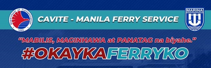 DOTr Launches Cavite-Manila Ferry Service