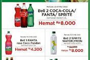 Promo Alfamart Beli 2 Coca Cola / Fanta / Sprite Botol 1.5 L Hemat Rp 8.000