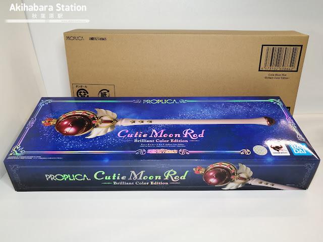 Review de la Proplica Cutie Moon Rood - Brilliant Color Edition - de Sailor Moon - Tamashii Nations