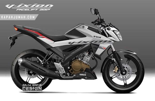 Renderan All New Yamaha Vixion 2017