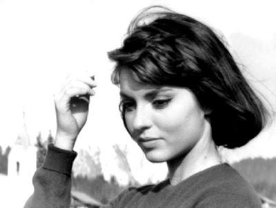 La actriz Marie-France Pisier.
