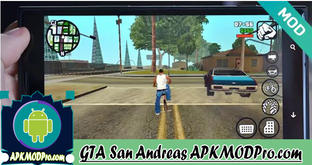 GTA San Andreas v2.00 MOD APK (Unlimited money) Terbaru 2020