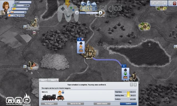 تحميل لعبة السكة الحديدية Rail Nation للكمبيوتر برابط مباشر