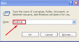 Cara Masuk Menu Task Manager Windows XP