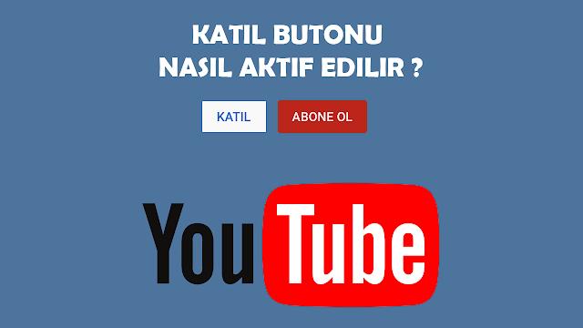 youtube katıl butonu