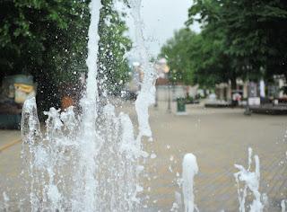 fontana na banjskoj promenadi