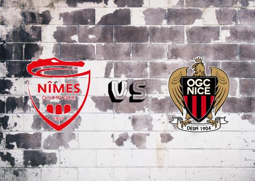 Nîmes vs Nice  Resumen