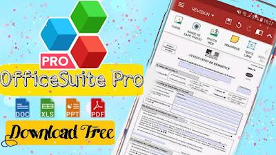 تحميل تطبيق OfficeSuite Pro مجانا