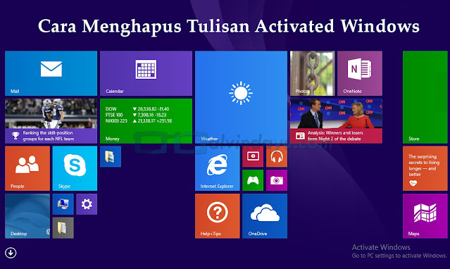 Ingin Activate Windows Hilang? Ini Tipsnya 100% Work