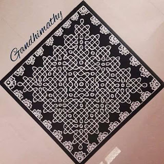 latest Kolam Rangoli Photos and pics